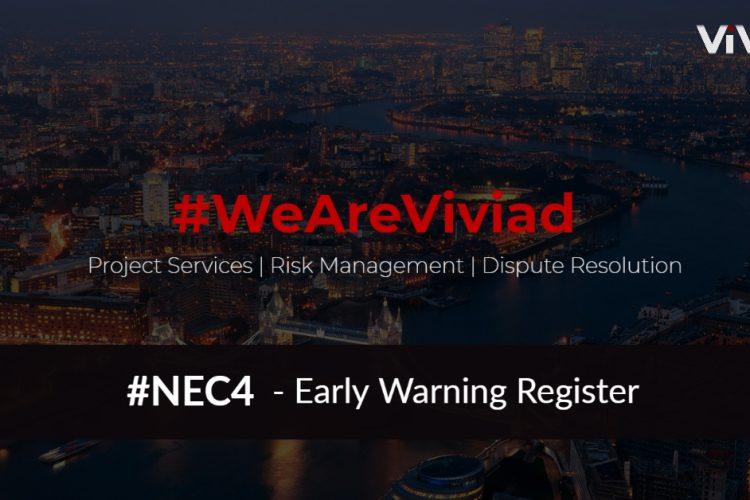 NEC4 Early Warning Register